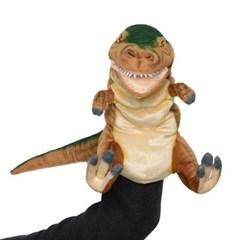 7749-공룡퍼펫(손인형) 티렉스 브라운 50cm.L_(1538371)