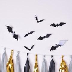 시크블랙 박쥐 벽면장식