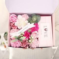 카네이션 용돈박스(L) 핑크 어버이날 생신선물 용돈_(2655112)