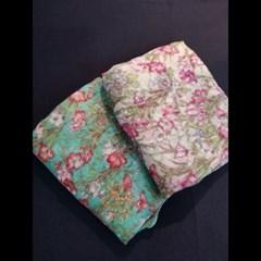 꽃무늬 주름 봄 명품 쉬폰 스카프