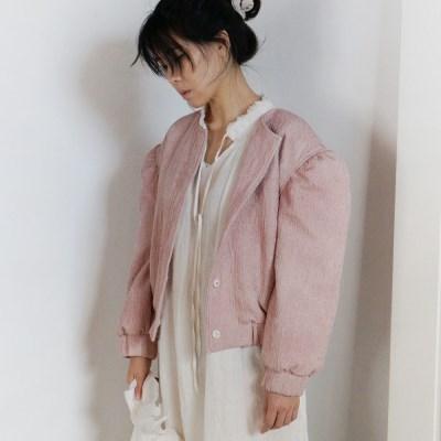 린넨 핑크 블루종 : Linen pink blouson
