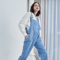 Pocket Overalls(Light Blue)