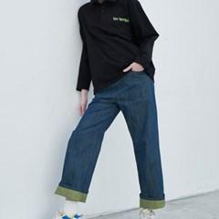Vintage Greenery Jeans