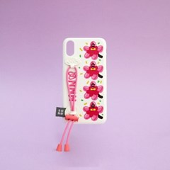 SUN CASE STRING GLOSSY WHITE CHERRY BLOSSOM