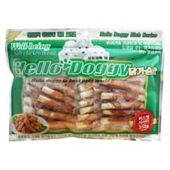 Hello Doggy 치킨 치즈 비스켓 350g (bn)