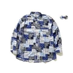 패치워크 반다나 셔츠 PATCHWORK BANDANA SHIRTS(2color)
