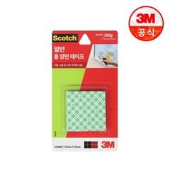 3M 스카치 폼 양면 테이프 225T (2.5cmX2.5cm 16매)_(2229322)