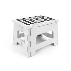 키커랜드 접이식 의자 - 화이트 (ZZ12-W)