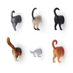 키커랜드 냉장고 자석 - 고양이 (6개입) (MG53)