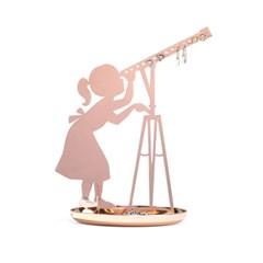 키커랜드 악세사리 진열대 - 천체관측 코퍼 (JK19-CO)