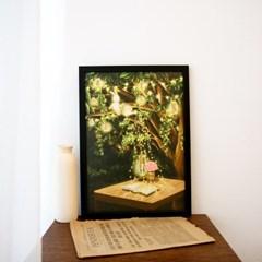 [A3 포스터, 캔버스액자] 빛나는 밤