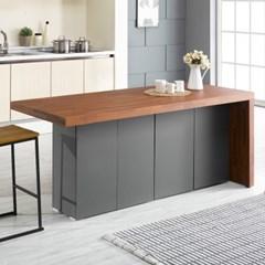 [데코마인] 엔슬리 아일랜드 식탁 1800 B형 홈바테이블