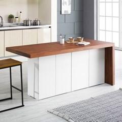 [데코마인] 엔슬리 아일랜드 식탁 1800 A형 홈바테이블