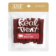 ANF Real Treat 동애등에 양고기 져키 100g (bn)