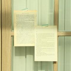 빈티지 영문 페이퍼 [영어 종이 감성 홈 카페 촬영 소품 레터링]