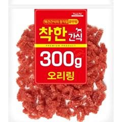 (신선재료) 착한간식 - 오리링 300g (in)