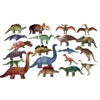 월드토이실사 공룡탐험 인형 20종 세트 (티라노,트리케라톱스 외)