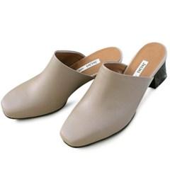 kami et muse Modern middle heel mule_KM20s037