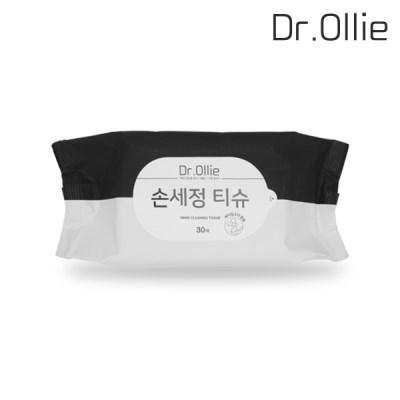 닥터올리 손세정티슈 30매 에탄올함유 휴대용티슈