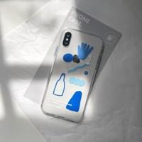 PHONE CASE. BLUE