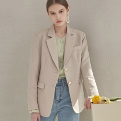 BELITA GOLD SINGLE JACKET_BEIGE