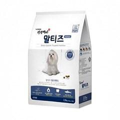 건강백서 - 말티즈 전용 사료 (전연령) 2kg (pt)