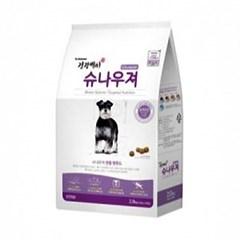 건강백서 - 슈나우져 전용사료 (전연령) 2kg (pt)