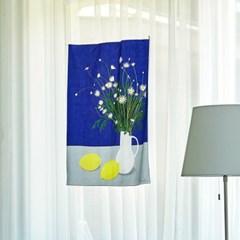 일상그림 패브릭 포스터 '마가렛과 레몬'
