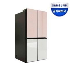 으뜸효율10%환급 비스포크 냉장고 RF85R9131AP 글라스