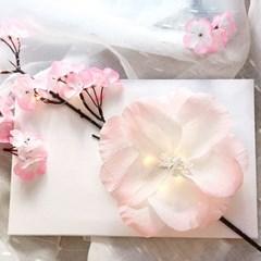 [텐텐클래스] (강남/홍대) 벚꽃 페이퍼플라워 무드등 만들기