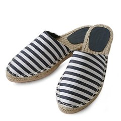 kami et muse Natural stitch espadrille slippers_KM20s046