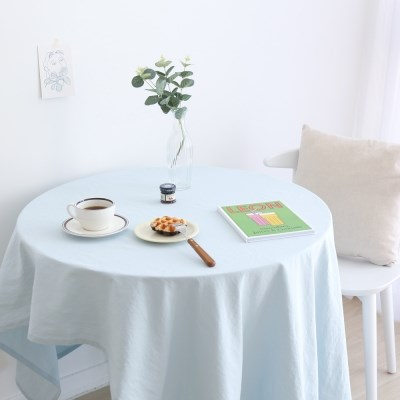 포홈 린넨 식탁보 테이블보(6인용) (3color)_(2040220)