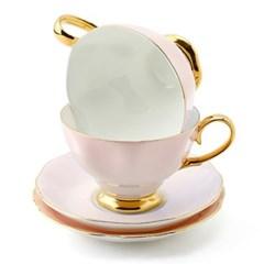 차모아 커피잔 디어 캐서린 컵 소서 2인조 베이비핑크_(1322691)