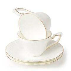 차모아 커피잔 드림 컵소서 미니 2인세트_(1322686)