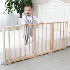 편백나무 침대가드 유아 안전가드