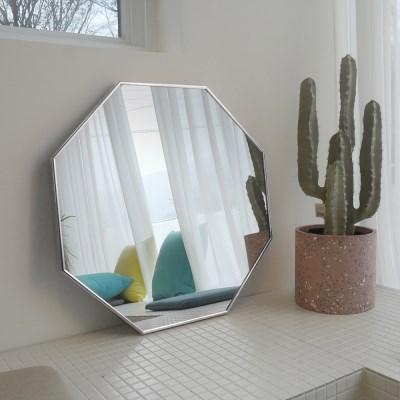 600x600 부티퍼 거울 [화이트골드] - 무료배송