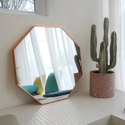 600x600 부티퍼 거울 [로즈골드] - 무료배송