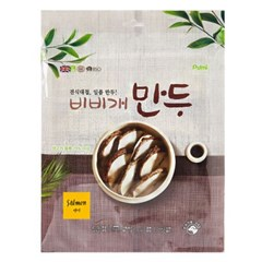 Purmi 비비개 만두 120g (연어) 소가죽과 생육 (sj)