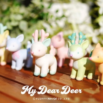 My Dear Deer Series 1 (박스)_(6pcs-1set)