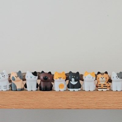 MY HOME CAT BLIND BOX SERIES 2 (시팅) (12pcs-1set)