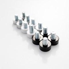 테이블 높이조절발 책상 상다리부품 가구 알루미늄 교정나사