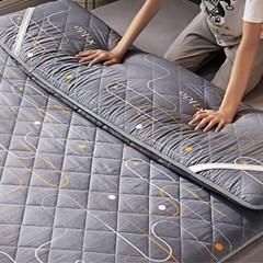두꺼운 요매트 침대 토퍼매트 바닥매트_(125433)