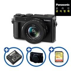 [파나소닉] 루믹스 컴팩트 카메라 DC-LX100M2/배터리+케이스+32GB