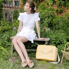 [와드로브] CARRIER BOSTON BAG_YELLOW