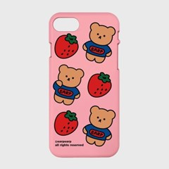 strawberry bear-pink(color jelly)_(1519484)