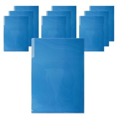 400 A4 PP 라이트홀더(파랑/10개입)_(2868770)