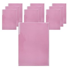 400 A4 PP 라이트홀더(핑크/10개입)_(2868769)