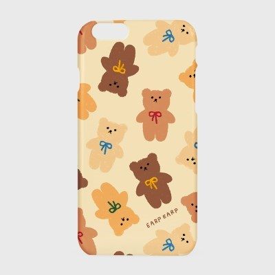 Dot ribbon bear-ivory(하드/터프/슬라이드)_(1519315)
