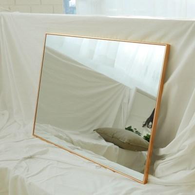 600x800 부티퍼 사각거울 [로즈골드] - 무료배송