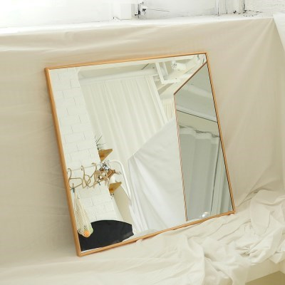 600x600 부티퍼 사각거울 [로즈골드] - 무료배송